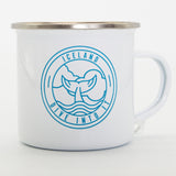 Dive Into It - White Camping Mug