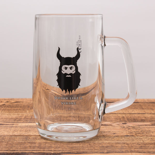 Drink Like a Viking - Beer Mug 0,5 L