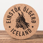 Einstök -Set of 6 Cork Coasters - Idontspeakicelandic