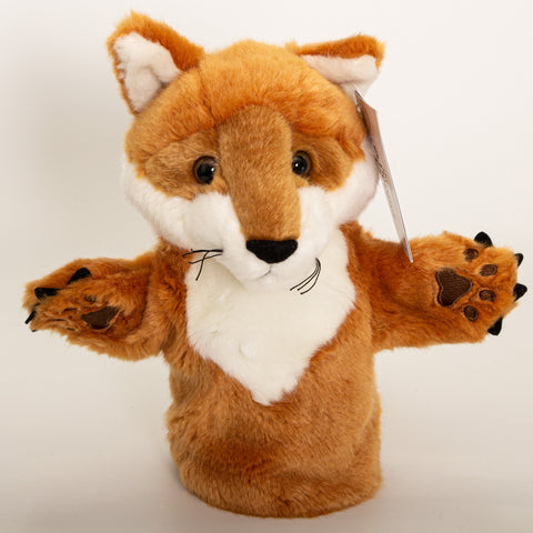 Red Fox - Hand Puppet Small - Plush Toys
