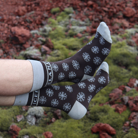 Socks - Helm of Awe - Black/Gray - New
