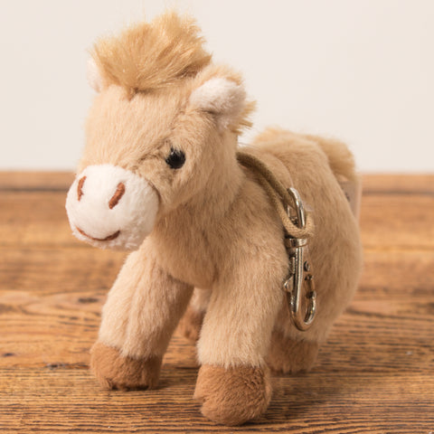 Horse Light Brown - Keychain - Plush Toys - Idontspeakicelandic