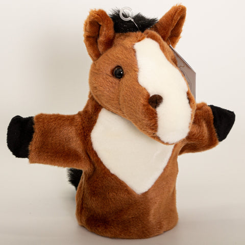 Horse - Hand Puppet Small - Plush Toys