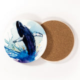 ICD - Ceramic coaster - Whale Dancing