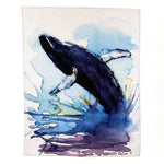 ICD - Tea Towel - Whale Dancing