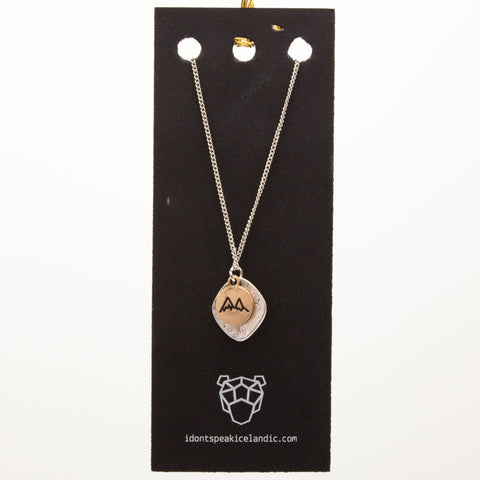 IDSI Jewelry - Chain Necklace - Mountains - PN: WES221