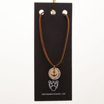IDSI Jewelry - Leather Necklace - Anchor - PN: WNA261