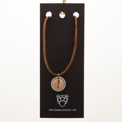 IDSI Jewelry - Leather Necklace - Arrow - PN: WNA257
