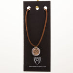 IDSI Jewelry - Leather Necklace - Dolphin - PN: WNA263