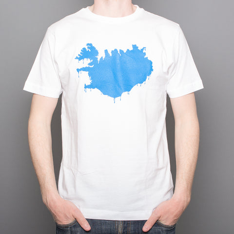 Mealting Iceland - T-Shirt - White
