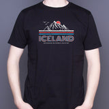 Iceland Neverending Adventure - T-Shirt - Black