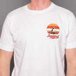 Iceland Puffin in Sunset - T-Shirt - White