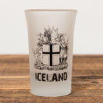 The Icelandic Coat of Arms - Shot Glass - Idontspeakicelandic