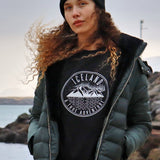 Unisex Pullover - Iceland True Adventure - Black