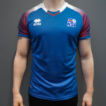 Icelandic National Team Jersey - Blue - Idontspeakicelandic
