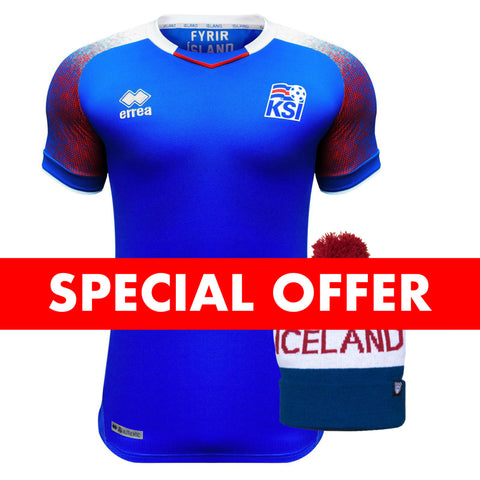 Icelandic National Team Jersey and Beanie - Idontspeakicelandic