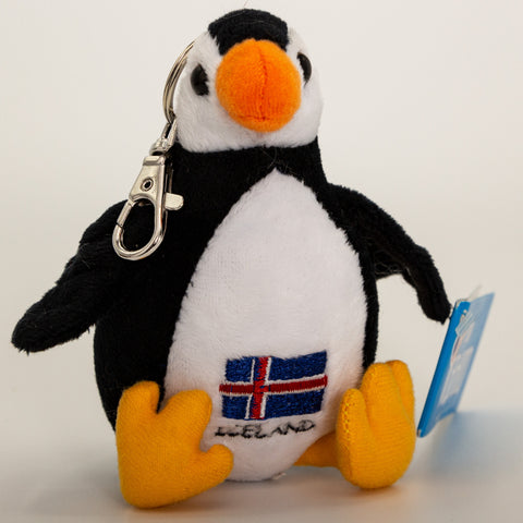 Puffin Iceland Flag - Keychain - Plush Toys