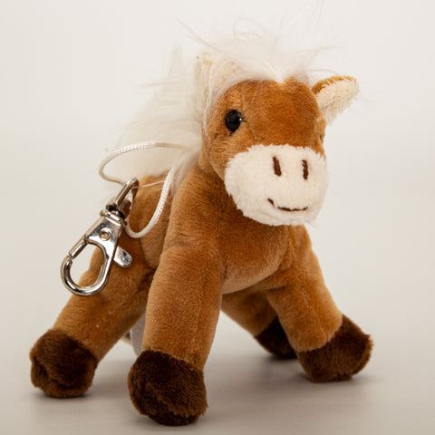 <transcy>Porte-clés Cheval Marron - Peluches</transcy>