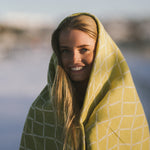 Eskimo - Quality Wool Blanket from Finland - Pistachio