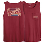 Legacy Active - Pocket Tank - Maroon
