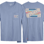Legacy Active - Pocket Longsleeve Tee - Blue