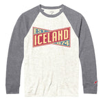 Legacy Active - Victory Falls Raglan Baseball - Heather Linen/Gray