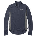 Legacy Active - Womans - Lightwaight Quarter Zip - Navy/Grey
