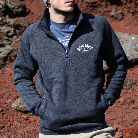 Legacy Active - Mens Saranac Quarter Zip - Fall Navy