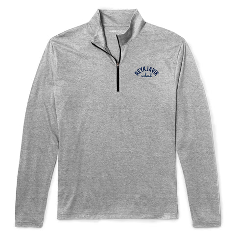 Legacy Active - Men's Knit Quarter Zip - Platinum