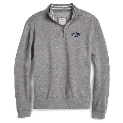 Legacy Active - Triblend Collegiate Quarter Zip - Fall Heather