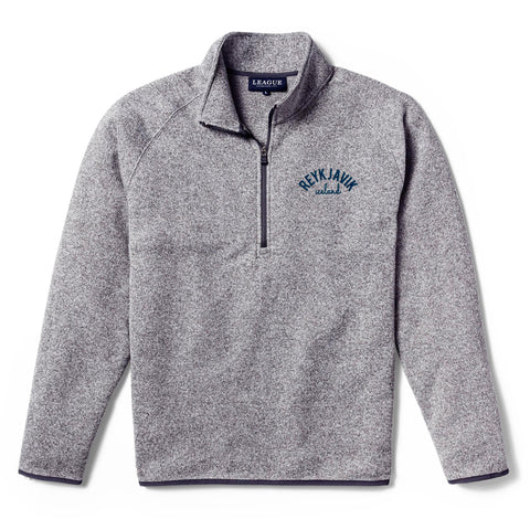 Legacy Active - Mens Saranac Quarter Zip - Nimbus Grey