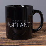 Lost in Iceland - Ceramic Mug - Black - Idontspeakicelandic