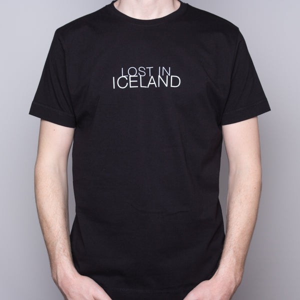 Lost in Iceland - T-Shirt - Black