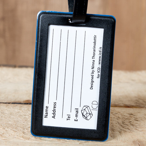 Icelandic Viking Behaviour - Luggage Tag