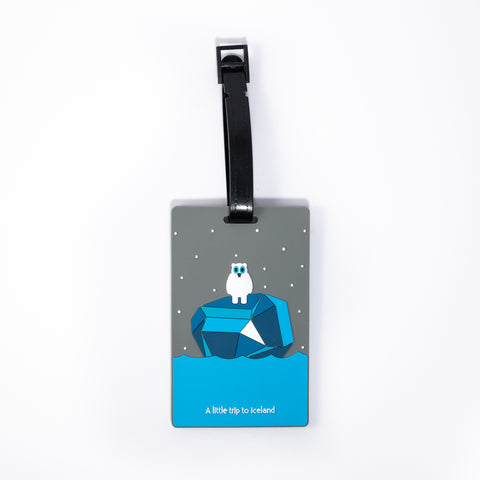 ICD - Luggage Tag - A Little Trip to Iceland