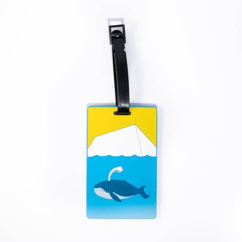ICD - Luggage Tag - Whale and Iceberg