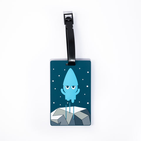 ICD - Luggage Tag - Angry Icelandic Elf