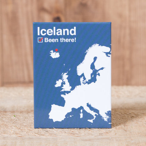 Iceland Been There - Magnet