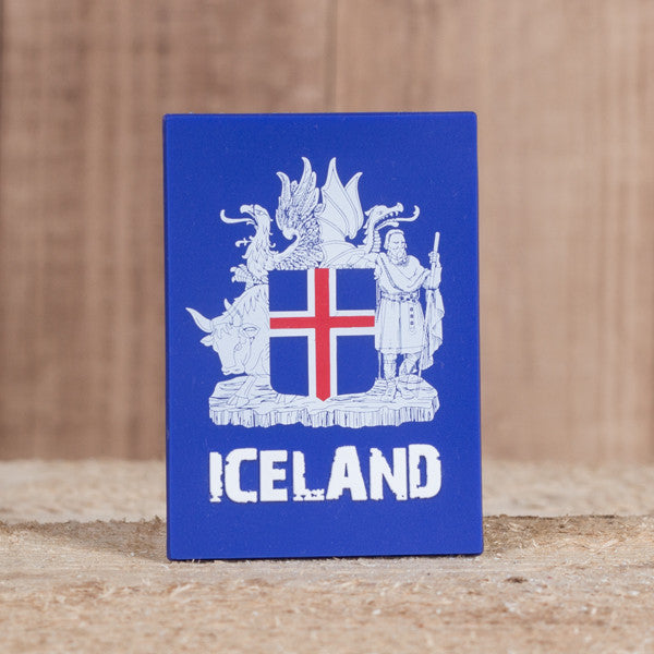 The Icelandic Coat of Arms - Magnet