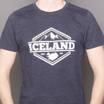 Mountains - T-Shirt - Navy Salvage