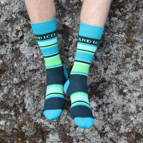 <transcy>Chaussettes - Northern Lights - Northern Lights Colors - Nouveau</transcy>