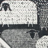 Pakapaat - Quality Wool Blanket from Finland - Black/White - Idontspeakicelandic