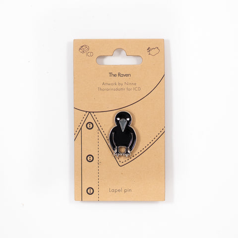 ICD - Lapel Pin - The Raven