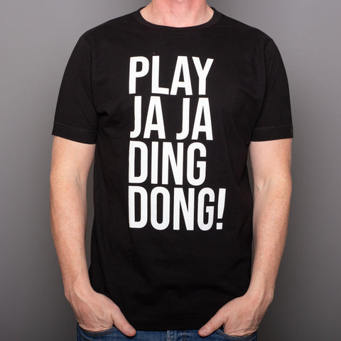 Play JAJA Ding Dong - T-Shirt - Black