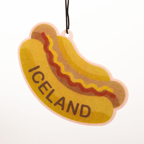 Icelandic Hot Dog - Air Freshener - Car