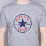 Reykjavik Done That - T-Shirt - Gray - Idontspeakicelandic