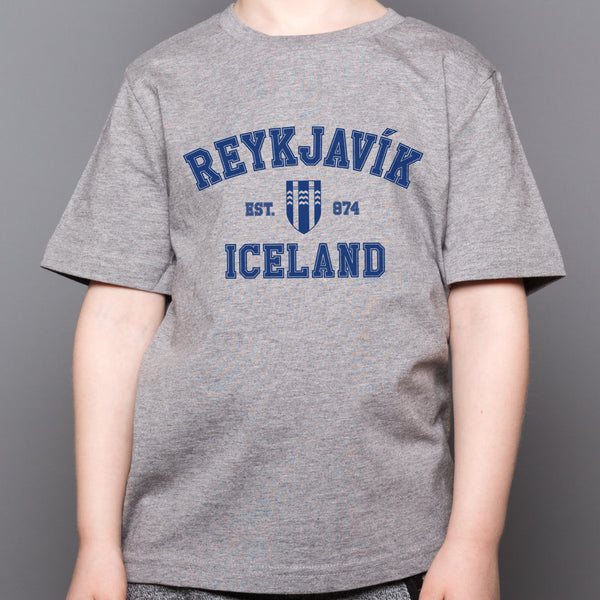 Reykjavik College - Kid's T-Shirt - Gray