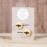 Iceland Memories - Hair Clip - Icelandic Memories - Yellow