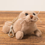 Seal Gray Brown - Keychain - Plush Toys - Idontspeakicelandic