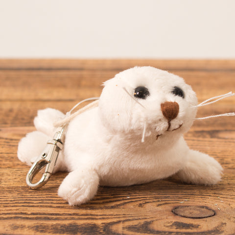 Seal White - Keychain - Plush Toys